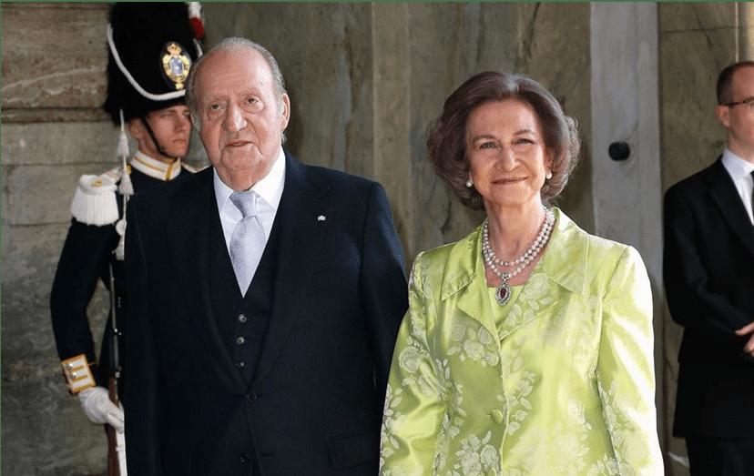 Rei Juan Carlos e Rainha Sofia
