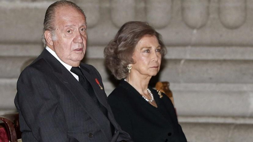 Rei João Carlos e Rainha Sofia
