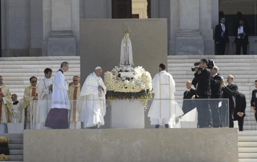 Francisco é o sexto Papa a visitar o Santuário de Fátima.