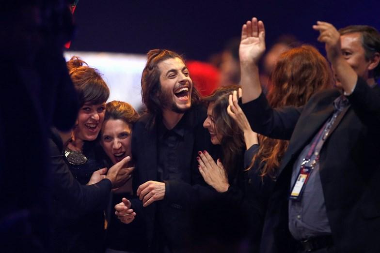Salvador Sobral foi o grande vencedor do Festival da Eurovisão. É a primeira vez que Portugal vence esta competição