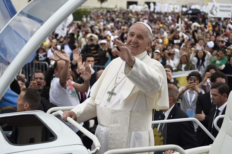 Estas são as melhores imagens da visita do Santo Padre a Fátima