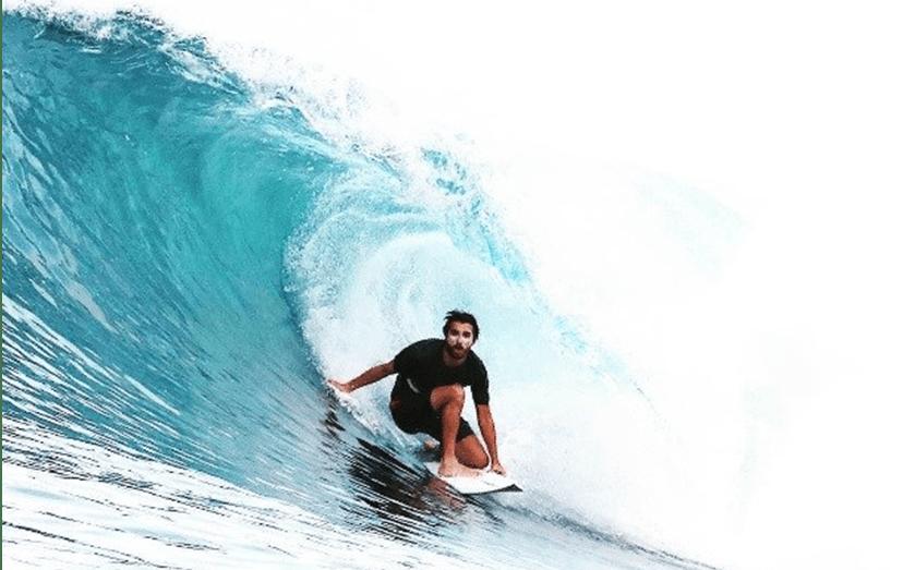 Francisco Spínola ficou ferido após queda a fazer surf