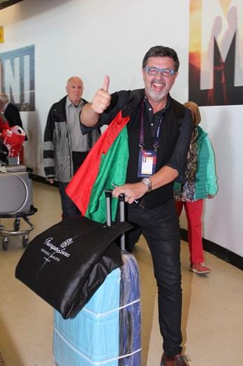 José Carlos Malato também regressou de Kiev