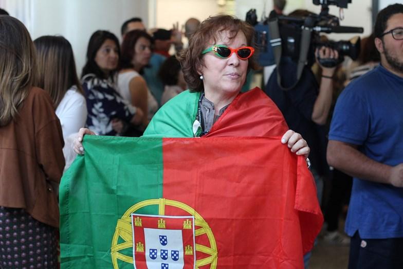 Houve quem se vestisse a rigor para receber o português