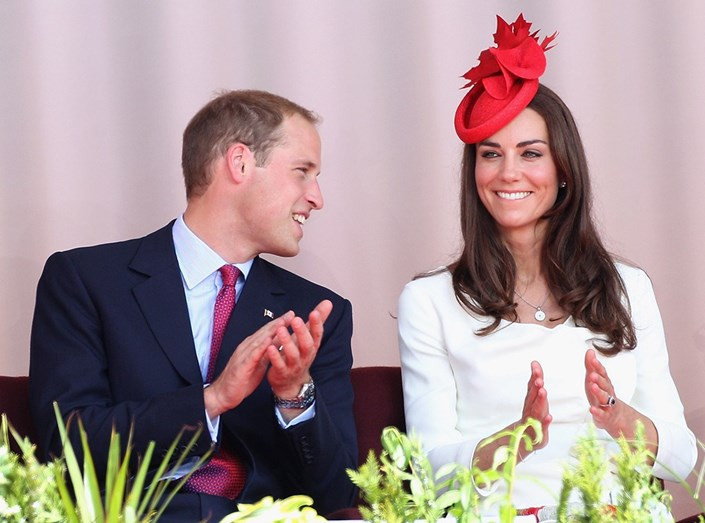 Os duques de Cambridge já partilham dois filhos em comum, George, de 3 anos, e Charlotte, de 2 anos