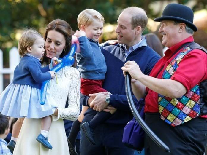 William e Kate tentam ser uns pais presentes, apesar dos compromissos reais