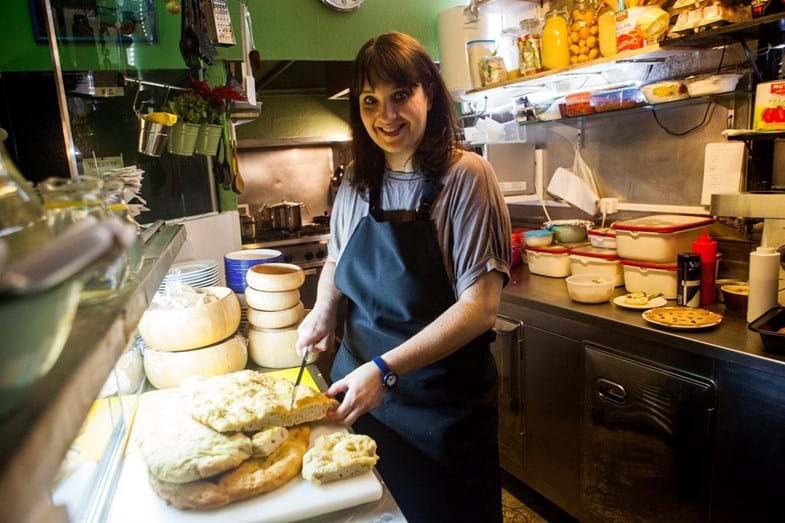 A chef Chiarra Ferro