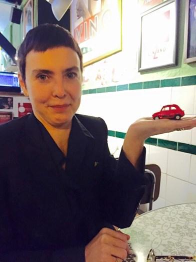 Adriana Calcanhoto também é fã do espaço