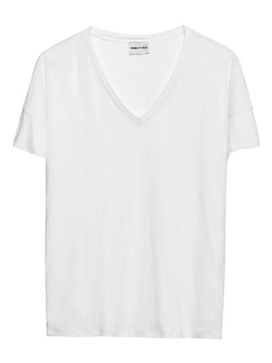 T-shirt de decote em V Bimba Y Lola, €22