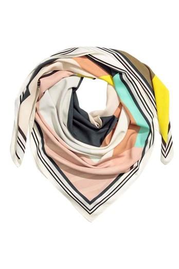 Lenço colorido H&M, €9,90