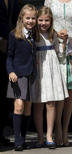 A infanta Sofia vai usar o mesmo macacão da escola que Leonor usou