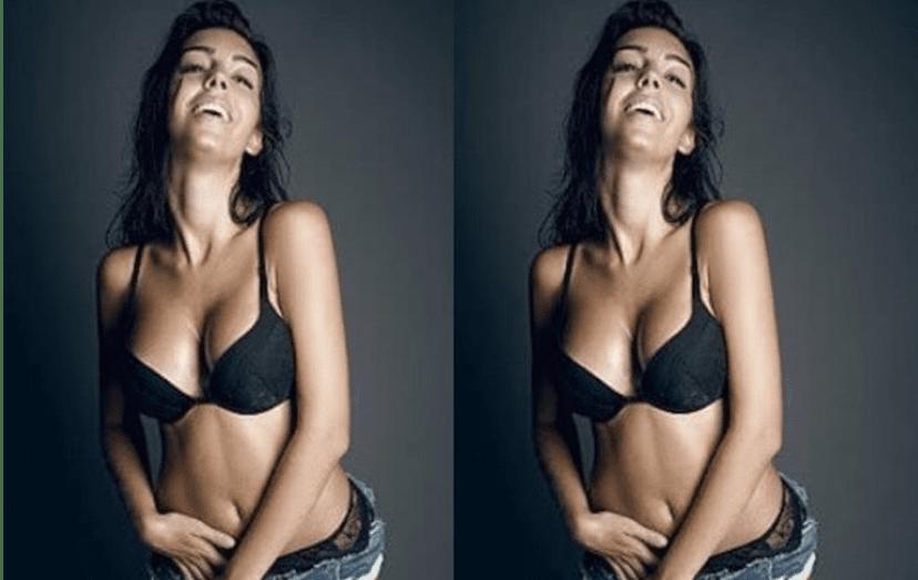 Georgina Rodriguez apresenta um corpo mais trabalhado