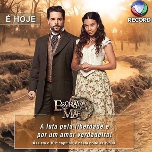 Em 2016, Pedro Carvalho foi protagonista da telenovela de maior sucesso da Rede Record, no Brasil, nos últimos oito anos, 'Escrava Mãe'