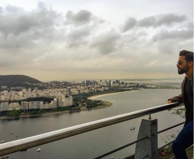 O ator adora a cidade Rio de Janeiro está muito feliz por lá voltar a trabalhar