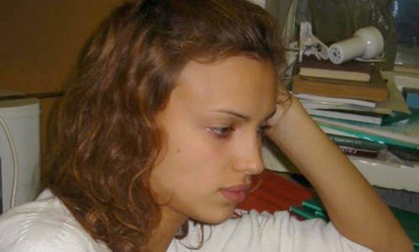 Irina Shayk quando ainda vivia na Rússia