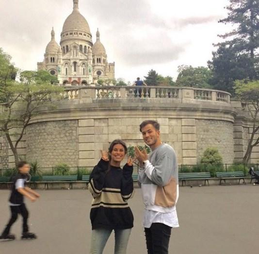 Carolina Loureiro e David Carreira: pazes feitas em Paris?