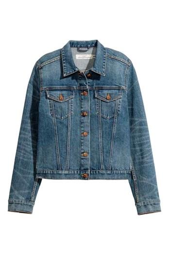 Blusão de ganga H&M, €34,99