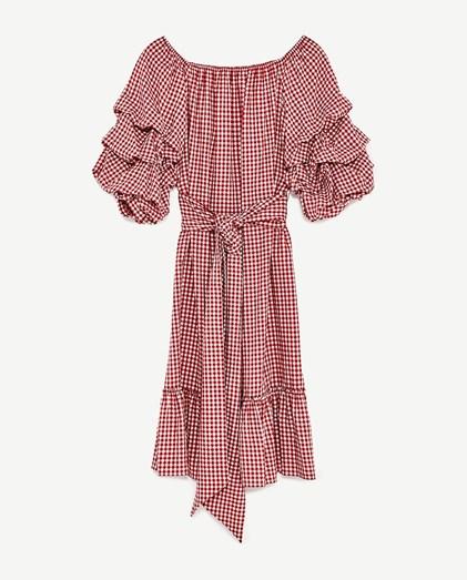 Vestido Zara, €39,95
