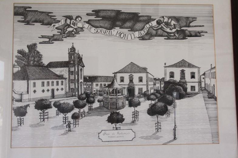 Sobral de Monte Agraço, no Séc. XIX, era todo pertença da família de Salvador