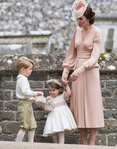 Kate Middleton e os filhos