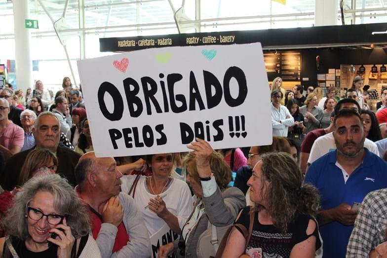 A loucura no aeroporto é esperada também em Marco de Canavezes