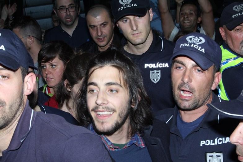 A segurança foi reforçada em Marco de Canaveses