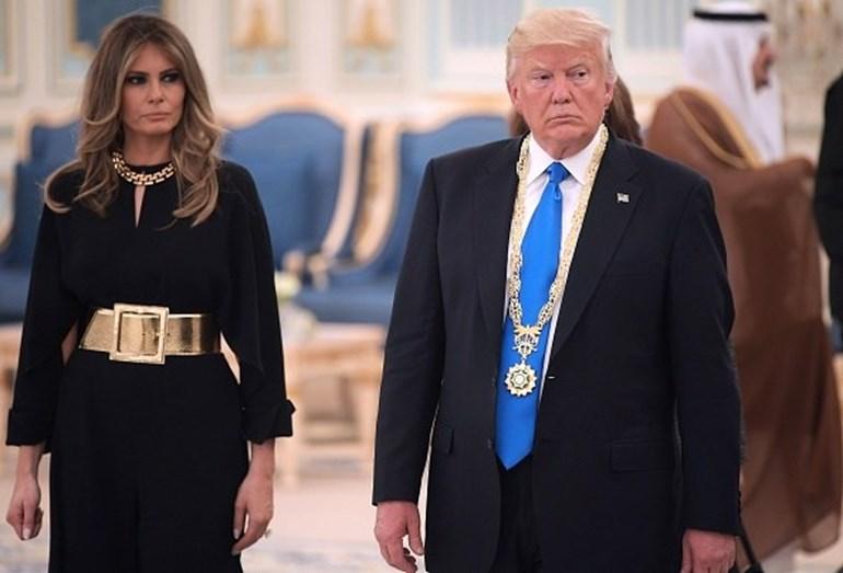 Melania Trump arrasa no país que discrimina as mulheres