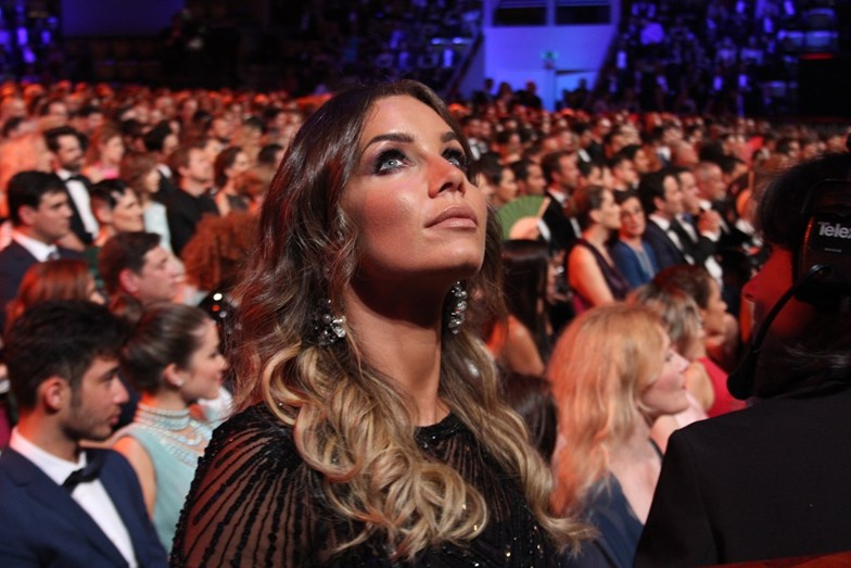 Luciana Abreu na Gala dos Globos de Ouro