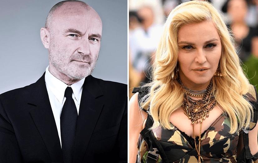 O cantor britânico, Phil Collins, e a cantora norte-americana, Madonna, disputam um palácio de luxo no coração de Lisboa