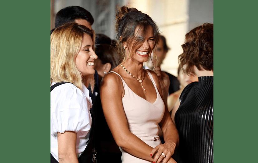 O sorriso de Cláudia Vieira é um dos mais bonitos da televisão portuguesa. Aqui, na festa dos 'Globos de Ouro'.