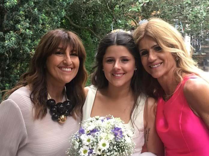 Filha de Bibá Pitta casou e batizou o filho em cerimónia íntima