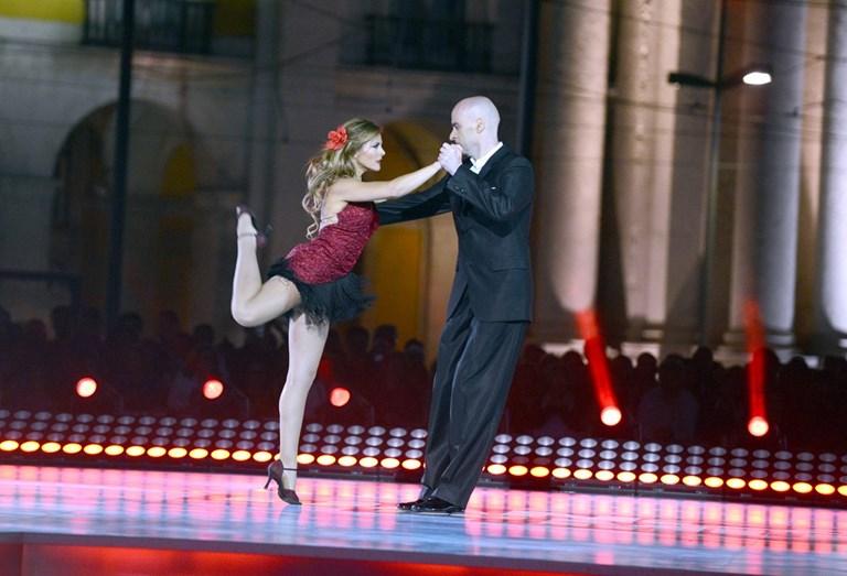 Sónia Araújo dançou tango argentino