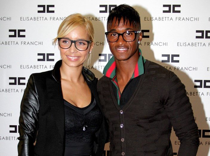 Luciana Abreu com o ex-marido, Yannick Djaló