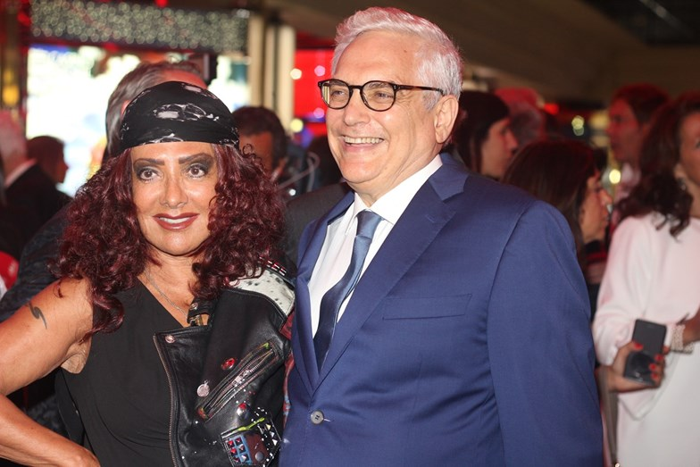 Filipe La Feria e Ana Salazar