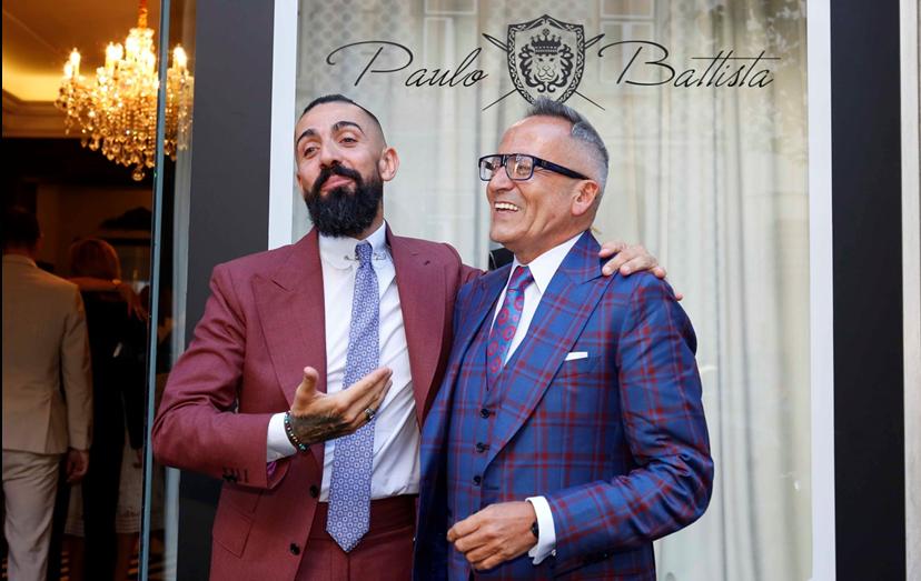 Paulo Battista e Manuel Luís Goucha