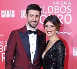 Daniel e Andreia Rodrigues: casamento em palácio com dois dramas na família