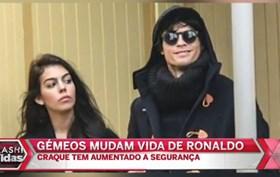 Gémeos mudam vida de Cristiano Ronaldo