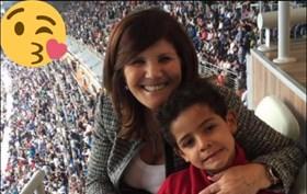 Dolores Aveiro deixa mensagem de parabéns a Cristianinho