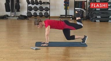 Semana 8, exercício 6: glúteos e abdominais
