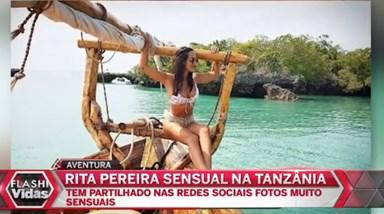 Rita Pereira sensual na Tanzânia