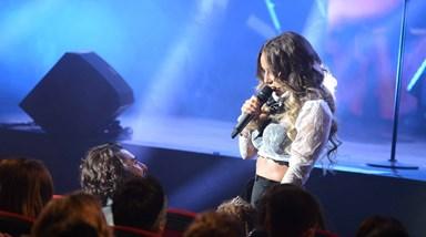 Luciana Abreu apresenta novo trabalho no Estoril e anuncia casamento