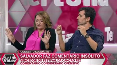 "Polémica: ""Salvador Sobral chamou atrasados mentais aos portugueses"""