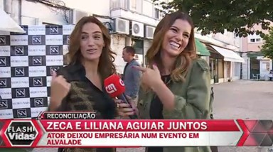 José Carlos Pereira e Liliana Aguiar de novo juntos