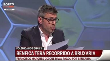 FC Porto acusa Benfica e Luís Filipe Vieira de bruxaria