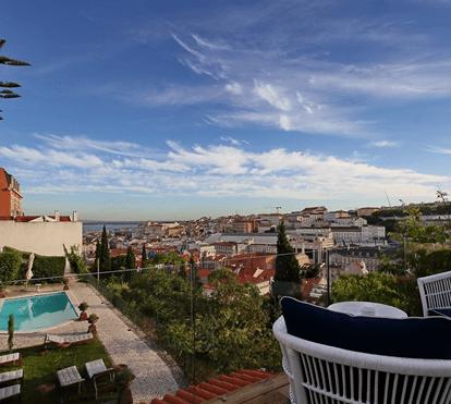 Os 10 mais belos hotéis de charme em Lisboa