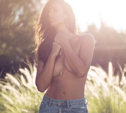 Rita Pereira volta a mostrar-se nua