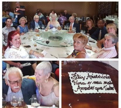 A recuperar da operação ao cancro, Jó Caneças organiza festa de aniversário do marido