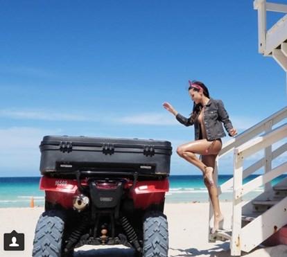 Helena Costa mostra férias de sonho em Miami