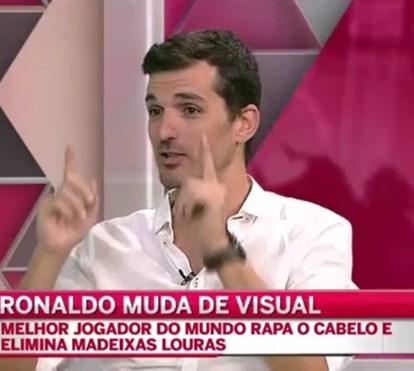 Tertúlia comenta novo visual de Cristiano Ronaldo