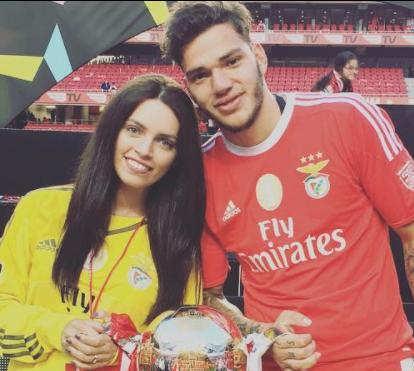 Ex-Jogador do Benfica Ederson Moraes já foi pai. E mostrou o bebé